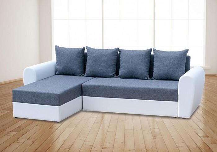 Oxford ágyazható sarokülő - Szövet kanapék