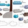 Bolivia exkluzív kanapé