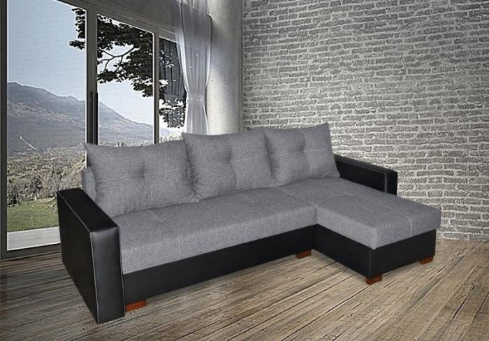 Oslo Pik textilszövet sarokülő - Szövet kanapék