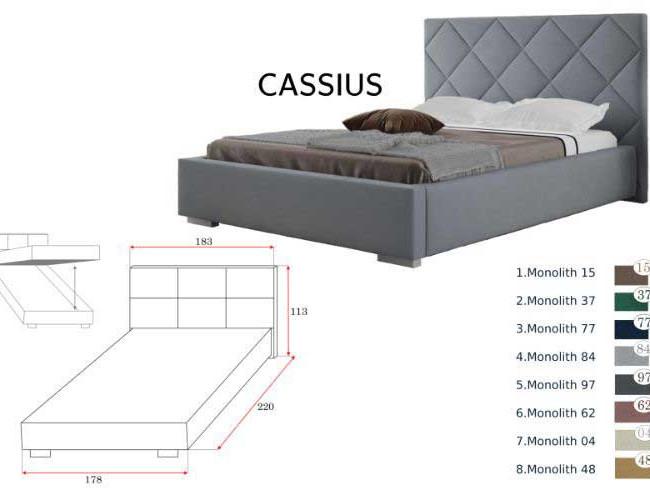 Cassius franciaágy