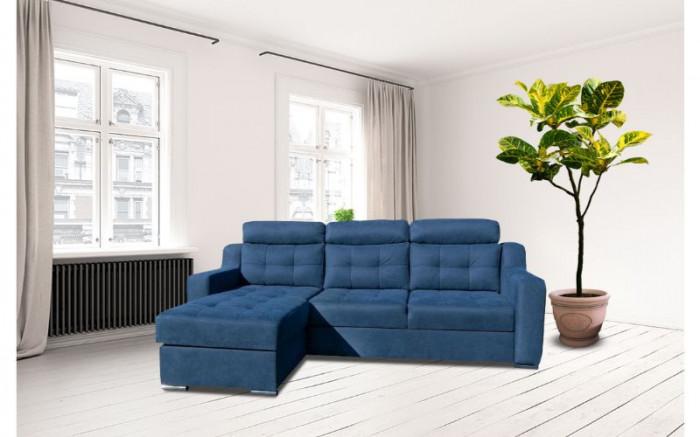Moderno sarokkanapé - Szövet kanapék